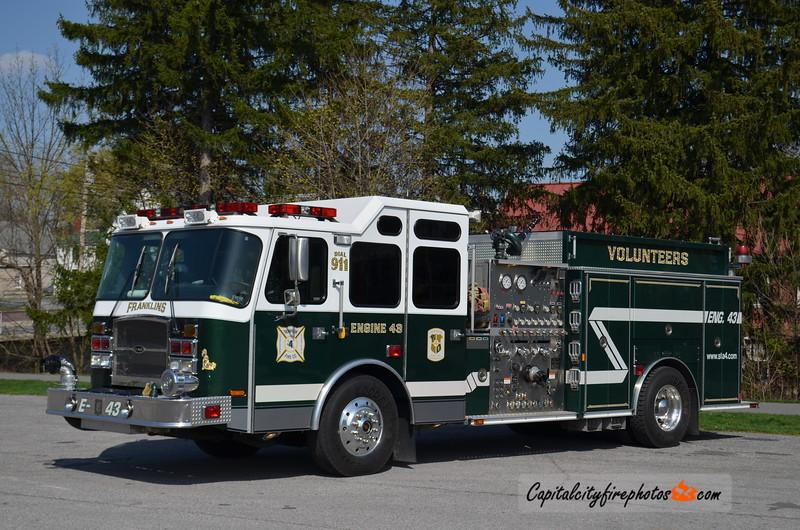 Chambersburg (Franklin Fire Co.) Engine 43: 2004 E-One Cyclone II 2000/750/20