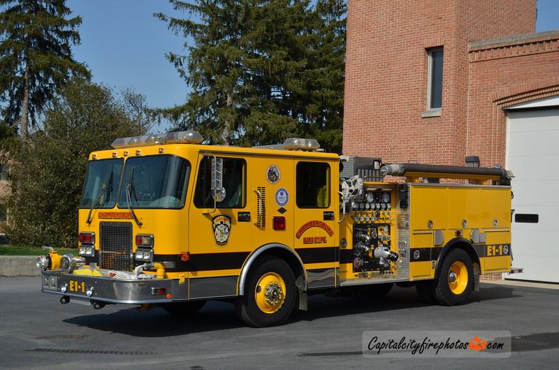 Chambersburg Engine 1-1: 1996 Spartan Gladiator 1500/500