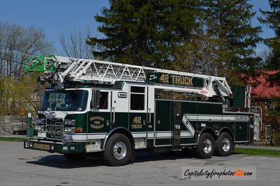 Chambersburg (Franklin Fire Co.) Truck 42: 2014 Pierce Arrow XT 105'