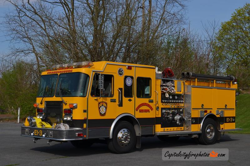 Chambersburg Engine 1-3: 1995 Spartan Gladiator 1500/500