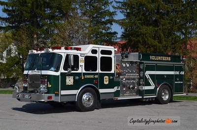 Chambersburg (Franklin Fire Co.) Engine 45: 2004 E-One Cyclone II 2000/750/20