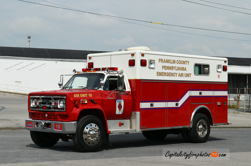 Franklin County Air Unit 10: 1980 GMC/Pierce (X-Washington County, MD)