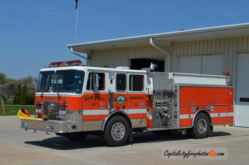 Greencastle Engine 3-2: 1995 KME 1500/750