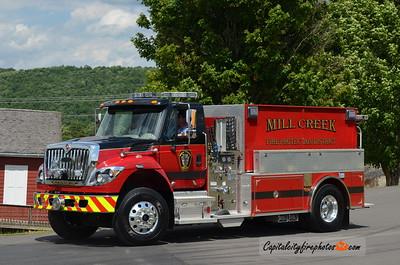 Mill Creek Tanker 20: 2016 International/Pierce 500/2000