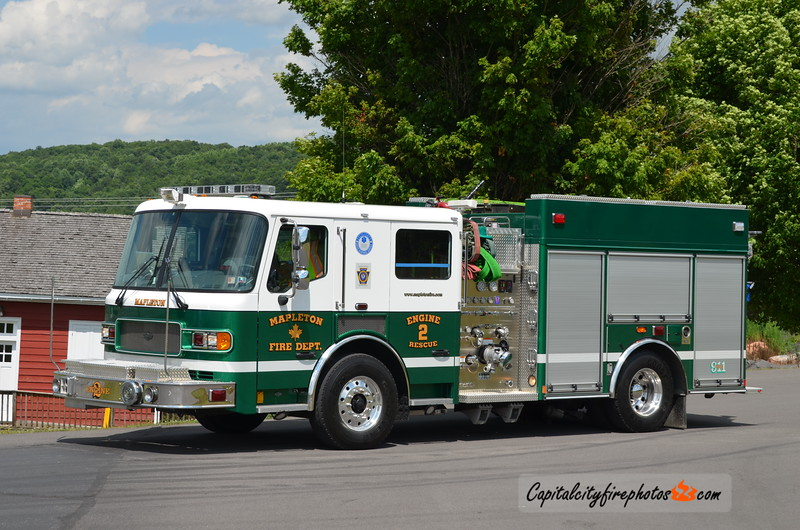 Mapleton Engine Rescue 2: 2006 American LaFrance Liberty 1500/1000