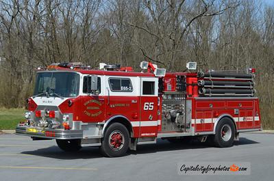 Huntingdon Regional Engine 65-2: 1989 Mack/Ranger 2000/1000 (X-North Middleton, PA)