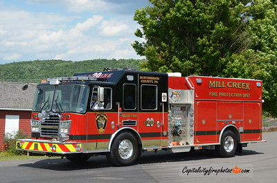 Mill Creek Engine 20: 2013 KME Predator Panther 1500/750/20