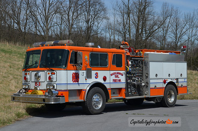 Marklesburg Engine 3: 1987 Seagrave 1500/1000 (X-Maugensville, MD)