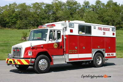 Mifflintown X-Rescue 29: 1995 Freightliner/Swab