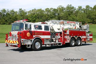 Mifflintown Truck 27: 1976/93 Mack/Baker/Pierce 1500/0 75' (X-North Bellmore, NY)