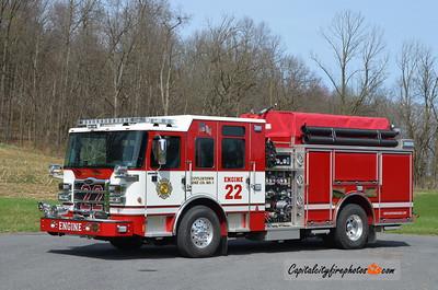 Mifflintown Engine 22: 2014 Pierce Enforcer 1500/750/30