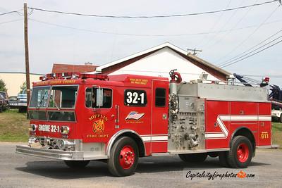 Mifflin X-Engine 32-1: 1974 Ward LaFrance/1995 New Lexington 1500/500
