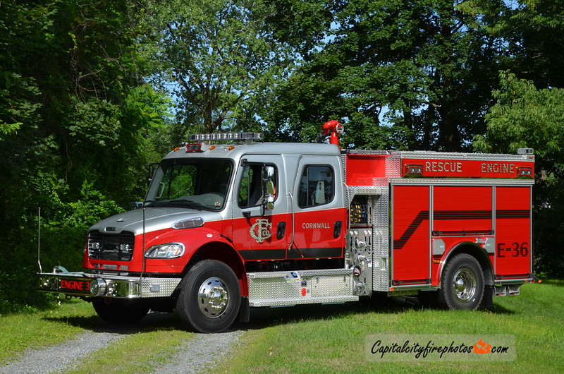 Cornwall Engine 36: 2016 Freightliner/Pierce 1250/750/20