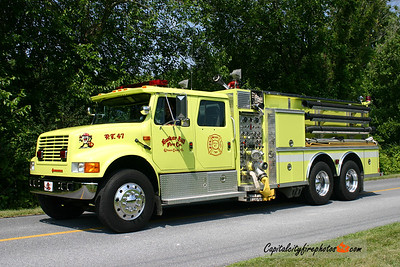 Bunker Hill Pumper Tanker 47: 1991 International/Darley 1000/2000