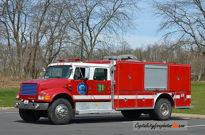 Lewistown (United Fire Company) Air 11: 1990 International/E-One (X-Escambia Co., FL)