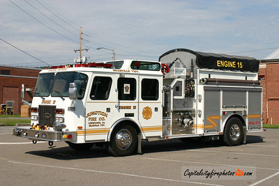 Junction Fire Co. (Granville Township) Engine 15: 1996 E-One 1500/1000