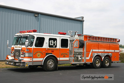 Lewistown (Brooklyn Hose Co) X-Engine 13-1: 1993 E-One 1500/2000    (** Currently For Sale **)