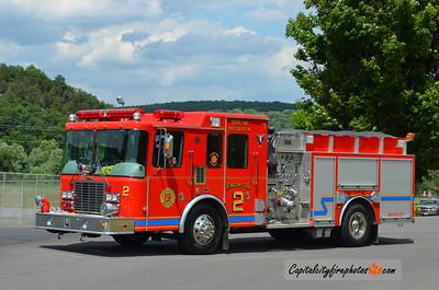 East Derry Fire Co. (Derry Township) Engine 2: 1999 HME/4 Guys 1500/500
