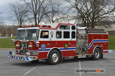 Lewistown (United Fire Co.) Engine 11: 1994 Seagrave 1500/710/40 (X-Frederick, MD)