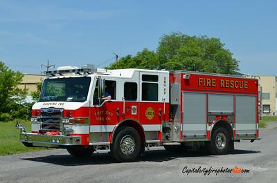 "Mahoning Township Engine 63: 2010 Pierce Impel ""PUC"" 1500/750"