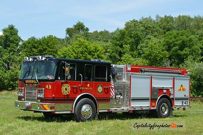 Danville Engine 43: 2008 Spartan/Rosenbauer 1500/1750