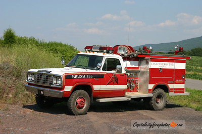 East Cameron Township Brush 355: 1977 Dodge/Saulsbury 500/300 (X-Garden City, Pitman, PA)