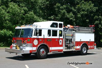 Coal Township (Fairview) Engine 141: 1987 Pierce 1250/1000/40 (X-Seldon, NY)
