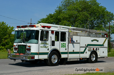 Coal Township (Forest Hills Fire Co.) Squirt 161: 2001 HME/M&W 1500/500 55' (X-Elkton, MD)