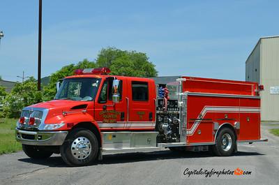 Lower Augusta Engine 711: 2002 International/Central States 1250/1000/10