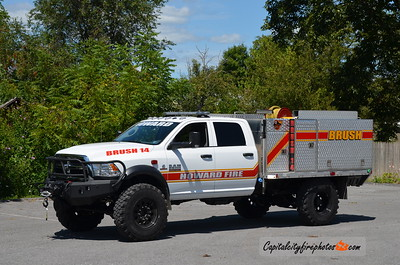 Howard Fire Co. (Centre Co.) Brush 14: 2018 Dodge Ram/Howard Fire Co. 105/150
