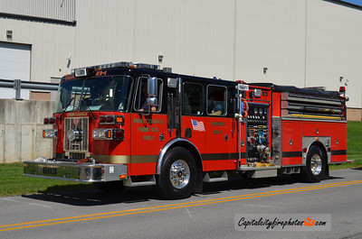 Houtzdale (Clearfield Co.) Engine 23-1: 2004 Sutphen Legend 1500/1000