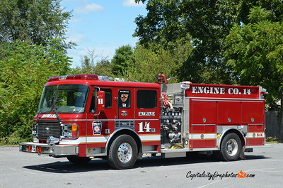 Howard Fire Co. (Centre Co.) Engine 14: 2000 American LaFrance 1500/1000