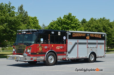 Coudersport (Potter Co.) Rescue 48: 2017 Spartan Gladiator/EVI