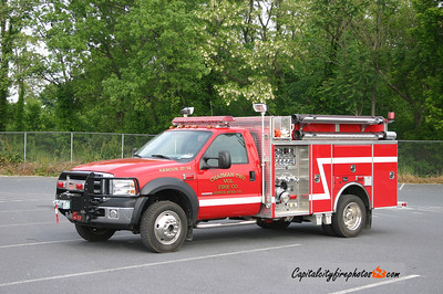 Chapman Township (Clinton Co.) Rescue 27-14: 2005 Ford/4 Guys 1000/226