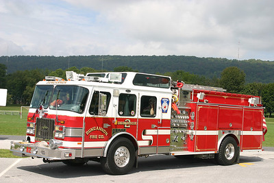 Duncannon X-Rescue 2: 1994 E-One Cyclone 1500/500 (** Sold to Macedonia Rural FD, Bonneau, SC **)
