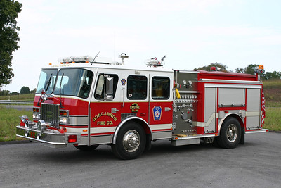 Duncannon Engine 2: 1995 E-One Cyclone 1500/500 (X-Lebanon, PA)   (** Sold to Bainbridge, PA Fire Co. 2019 **)