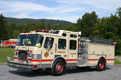 Liverpool Engine 5: 1997 E-One Cyclone 1500/750 (X-Elkins Park, PA)