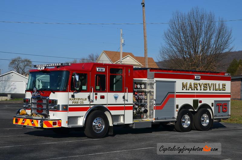 Marrysville Tanker 6: 2015 Pierce Enforcer 1500/2500