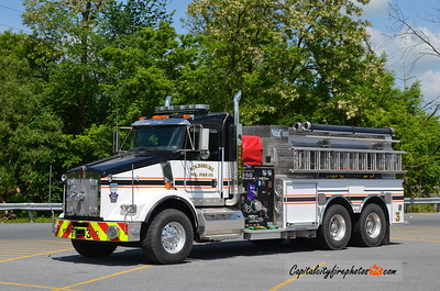 Ickesburg Tanker 3: 2018 Kenworth/Marco/1996 New Lexington 1500/2500