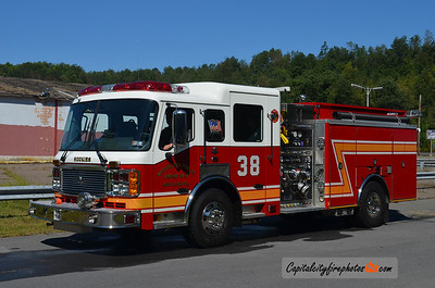 Ashland (Washington Fire Co.) Engine 38: 2006 American LaFrance Eagle 2000/750/30