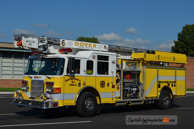 Dover Engine 6-1: 2003 Pierce Enforcer 1750/600 61' SkyBoom