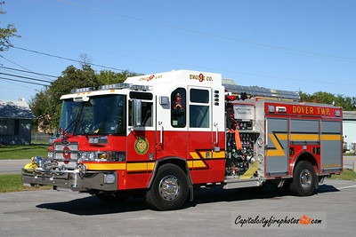 Dover Township Engine 9-2: 2009 Pierce Quantum 2000/750/20/20