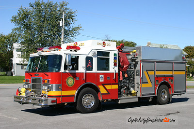 Dover Township Engine 9-1: 2001 Pierce Dash 2000/750/20/20