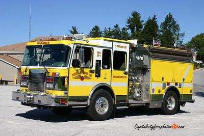 Dallastown Engine 35-1: 1994 Spartan/Saulsbury 1500/750