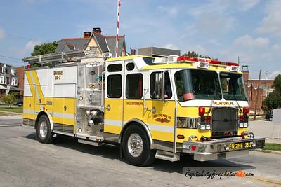 Dallastown Engine 35-2: 2005 E-One 1250/1000