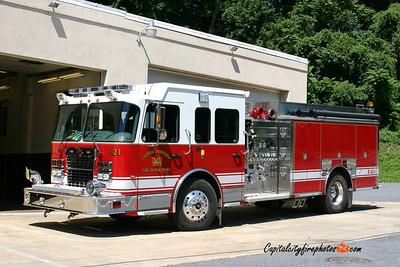 Cumru Township Engine 42-1: 2009 Spartan/Toyne 1750/1000/25A (X-Demo)
