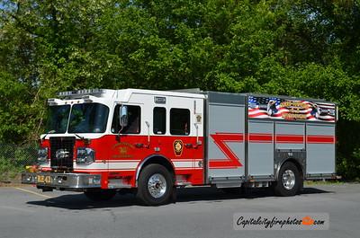 Cumru Township Fire Dept. Rescue Engine 42: 2015 Spartan Metro Star/Toyne 1500/500