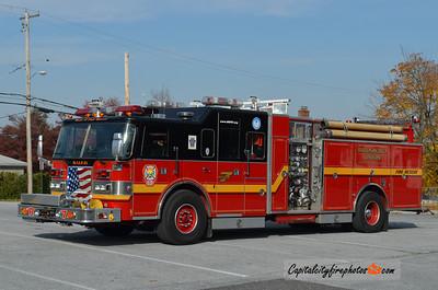 Birdsboro Rescue 7: 1994 Pierce Lance 1250/500/20 (X-Penndel, PA)
