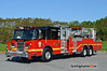Birdsboro X-Tower 7: 2005 Pierce 75' Aerialscope (** sold to Woodruff Fire Co., Spartansburg, SC in 2015 **)