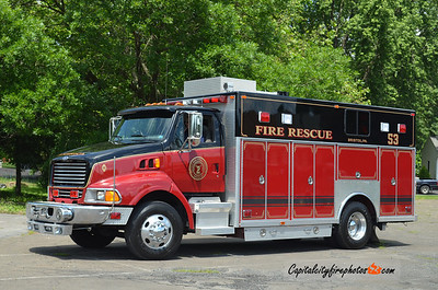 Bristol X-Rescue 53: 1999 Ford/JB-Res-Q  (** replaced in late 2016/early 2017 **)